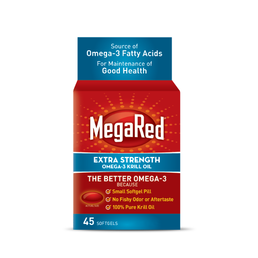 MEGARED KRILL OIL 500ML 45'S - Queensborough Community Pharmacy