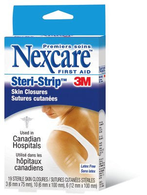 3M STERI-STRIPS SKIN CLOS. #500 19'S - Queensborough Community Pharmacy