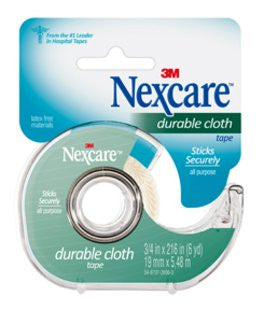 3M NEXCARE FIRST AID TAPE CLOTH 3/4'X6YDS #799CA - Queensborough Community Pharmacy