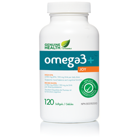 Omega 3+ Joy 120 Softgels - Queensborough Community Pharmacy