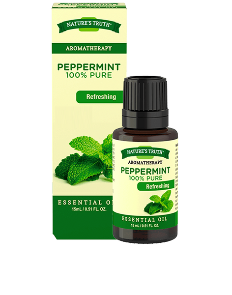 NATURES TRUTH ESSENTIAL OIL PEPPERMINT 15ML