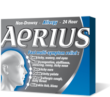 AERIUS TABS 5MG 30'S - Queensborough Community Pharmacy
