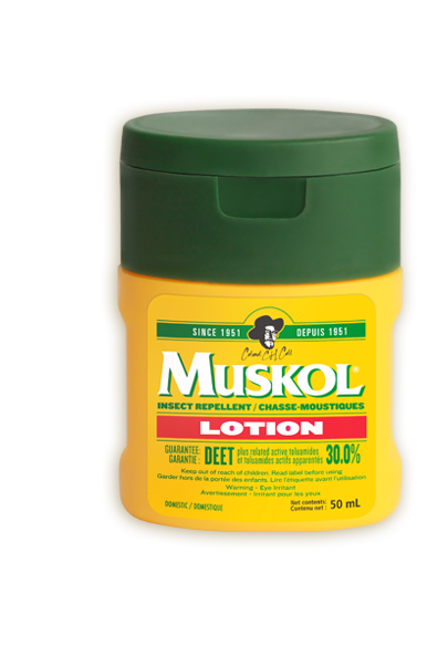MUSKOL INSECT REPPELENT LOTION 50ML - Queensborough Community Pharmacy