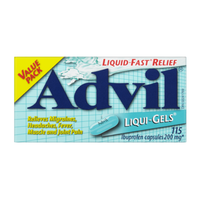ADVIL LIQUI-GELS 115'S - Queensborough Community Pharmacy