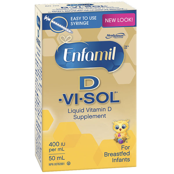 D-VI-SOL DROPS 50ML - Queensborough Community Pharmacy