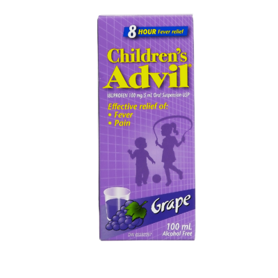 ADVIL FOR CHILD GRAPE FLAVOR 100ML - Queensborough Community Pharmacy