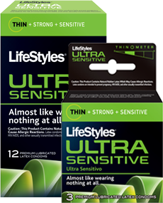 LIFESTYLE ULTRA SENSITIVE 12+2'S - Queensborough Community Pharmacy
