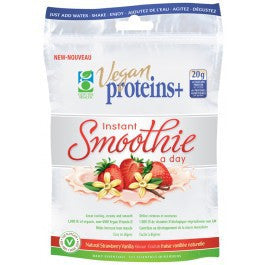 Vegan Proteins+ Natural Strawberry/Vanilla Powder 275g - Queensborough Community Pharmacy