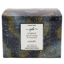 Load image into Gallery viewer, winter 3 wick candle