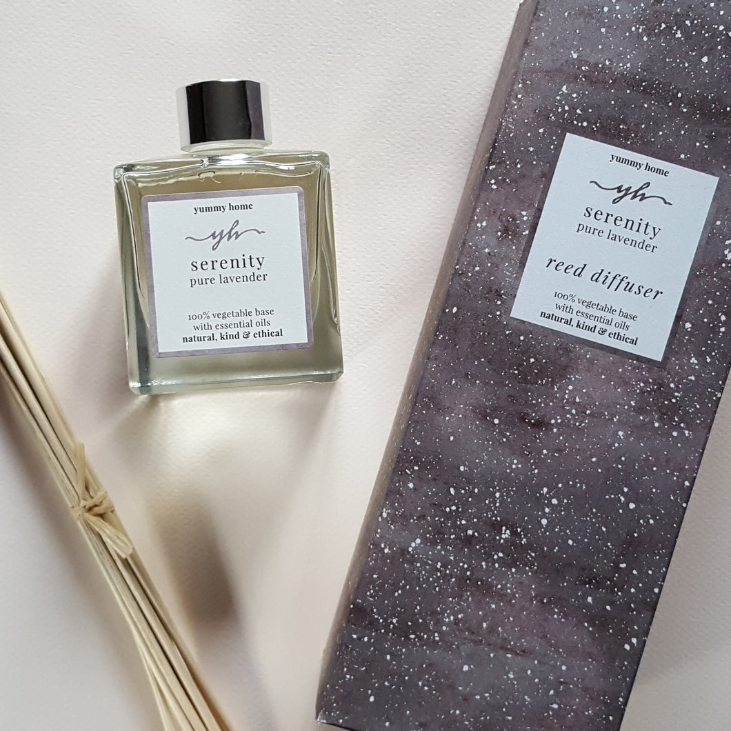 serenity 200ml reed diffuser