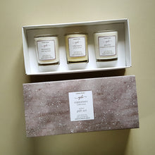 Load image into Gallery viewer, signature collection triple votive gift set