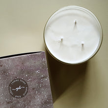 Load image into Gallery viewer, serenity 3 wick candle
