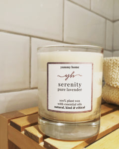 serenity - 100% natural candle 20cl
