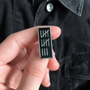 '13' Hard Enamel Pin