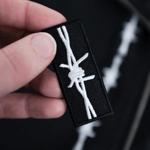 "'Barbed Wire' ""Gap Filler"" Patch"