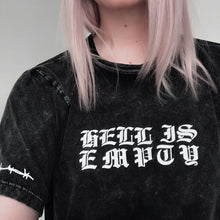Load image into Gallery viewer, 'Hell is Empty' Tshirts