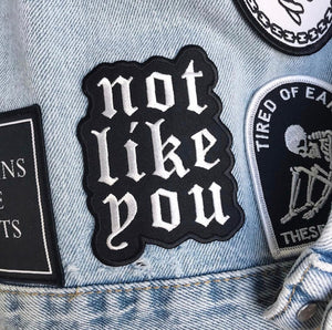 'Not Like You' Patch