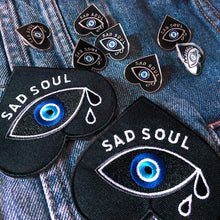 Load image into Gallery viewer, 'Sad Soul' Enamel Pin