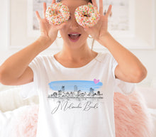 Load image into Gallery viewer, Milwaukee Bride Shirt, T-Shirt, Milwaukee, WI, Skyline, Bride Tee, Wedding Shirt, Bride, Bridal Shower Gift, Bachelorette, Gift