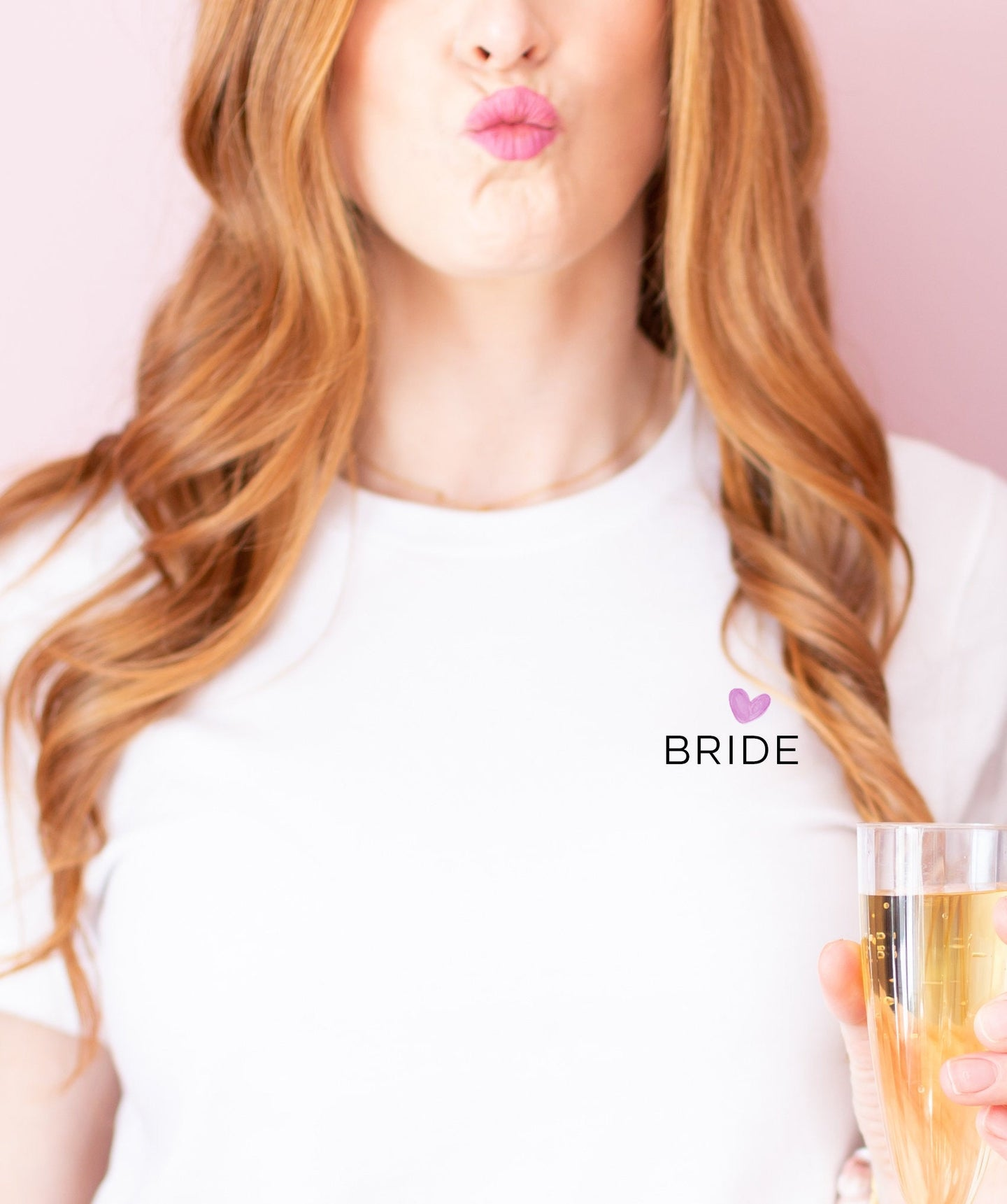Bride Shirt Simple, Bride Tee, Heart, Wedding Shirt, Bride, Bridal Shower Gift, Bachelorette, Day of Wedding, Christmas Gift, Gifts under 25