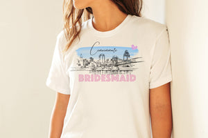 Cincinnati Bridesmaid Shirt, T-Shirt, Cincinnati, OH, Skyline, Bride Tee, Wedding Shirt, Bridal Shower Gift, Bachelorette, Day of Wedding