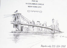 Load image into Gallery viewer, New York Skyline Rehearsal Dinner Invitations (set of 25 cards)