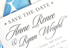 Load image into Gallery viewer, Key West Skyline Hand Drawn Save the Date Cards (set of 25 cards)