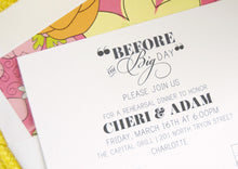Load image into Gallery viewer, Charlotte Skyline Rehearsal Dinner Invitations (set of 25 cards)