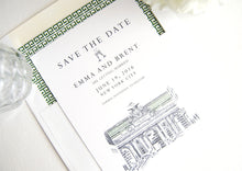 Load image into Gallery viewer, Grand Central Station, New York Wedding Save the Date Cards, Save the Dates, Train Station, NYC (set of 25 cards)