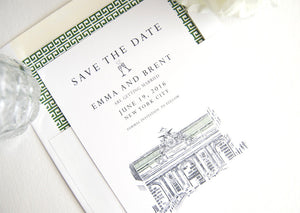 Grand Central Station, New York Wedding Save the Date Cards, Save the Dates, Train Station, NYC (set of 25 cards)