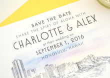 Load image into Gallery viewer, Hawaii Destination Wedding Save the Date Cards (set of 25 cards)