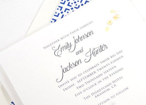 Tangled, Disney Inspired Fairytale Wedding Invitation, Lanterns  (Sold in Sets of 10 Invitations, RSVP Cards + Envelopes)