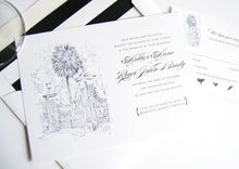 Load image into Gallery viewer, University of South Carolina Invitation Package (Sold in Sets of 10 Invitations, RSVP Cards + Envelopes)