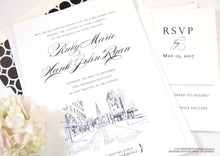 Load image into Gallery viewer, Burlington, Vermont Wedding Invitations Package (Sold in Sets of 10 Invitations, RSVP Cards + Envelopes)