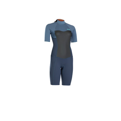 WOMENS ION JEWEL ELEMENT SHORTY WETSUIT (2019) 2,2 mm Short sleeve Backzip DL