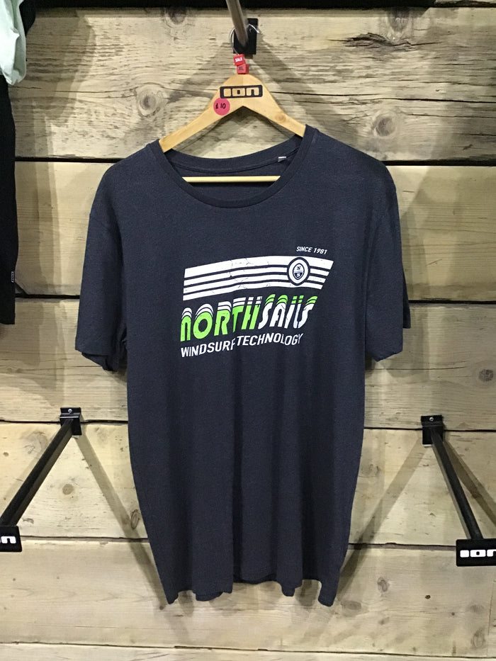 North Sails SS Tee Dark Grey