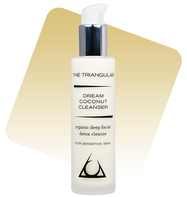 Dream Coconut Cleanser - Organic Deep Facial Detox Cleanse