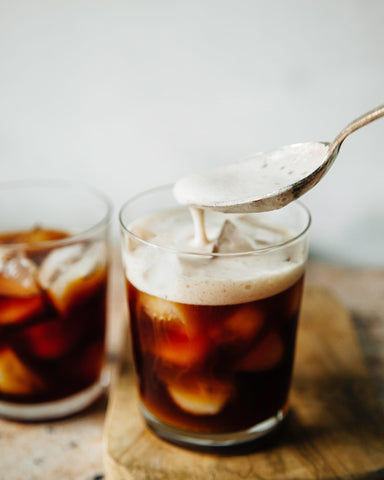 frothy cold brew