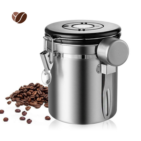 2X Coffee Canister