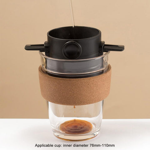 pour over filter camping coffee