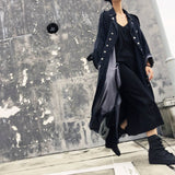 Alex Denim Trench Coat - i.cluie.com