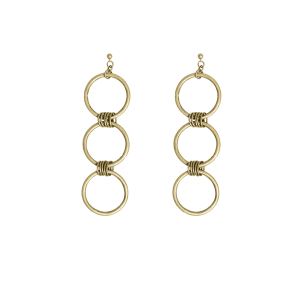Jace Gold Earrings - i.cluie.com