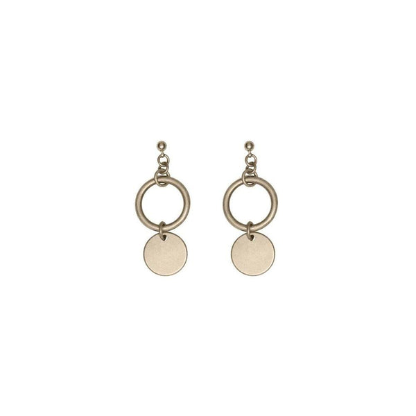 Jae Earrings Gold - i.cluie.com