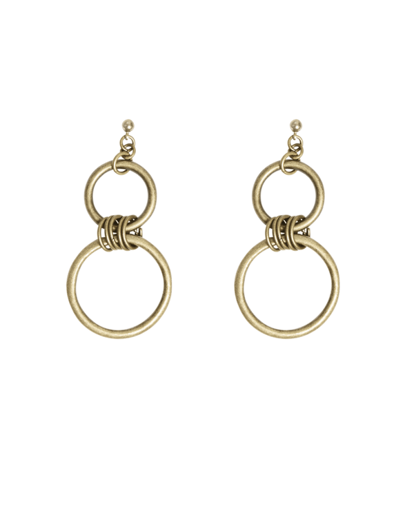 Joel Gold Earrings - i.cluie.com