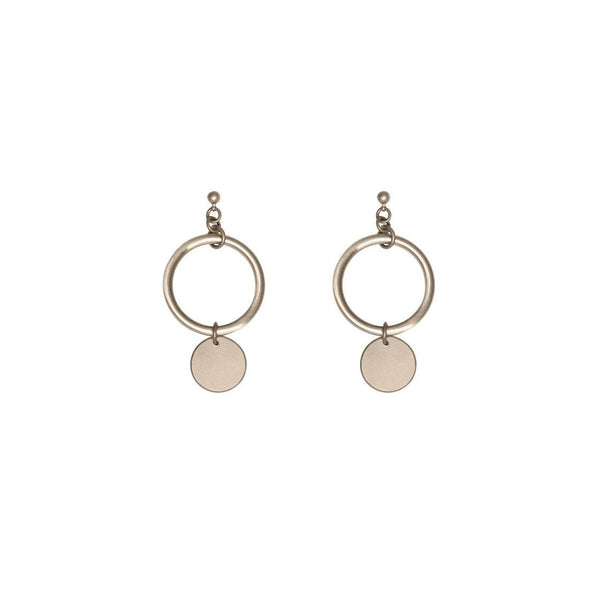 Johanna Gold Earrings - i.cluie.com