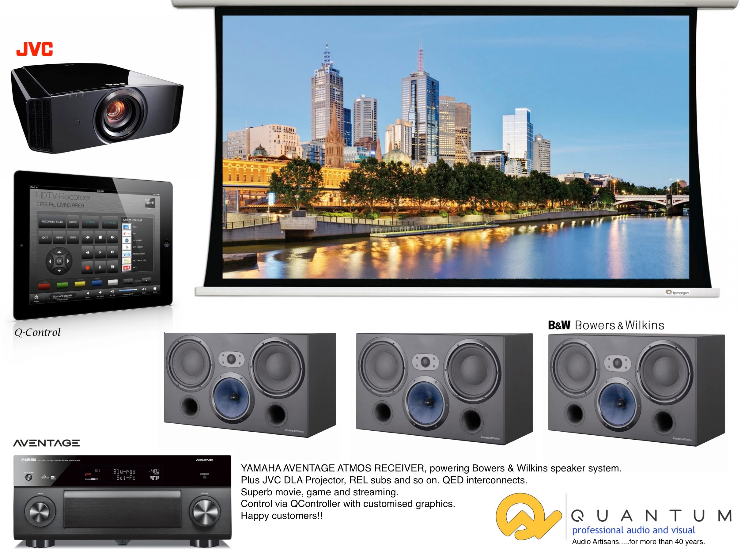 Vision Home Theatre Audio Quantum And Visual Lifestyle Wiring A Theater Projection Tv With More Than 40 Years Supplying Installing Products We Enjoy Advising You Your Partner Or Family As To Which Components