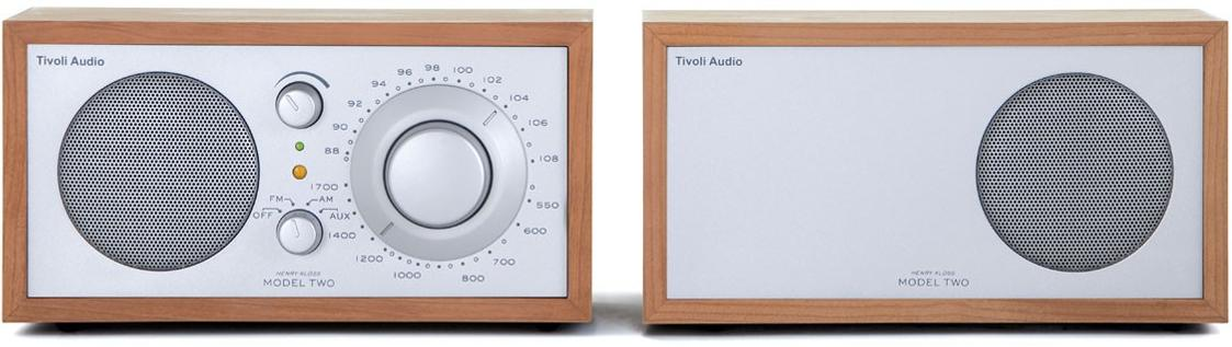 model two amfm stereo radio no other stereo system combines the beauty simplicity and audio brilliance of the tivoli audio model two stereo radio - Tivoli Radio