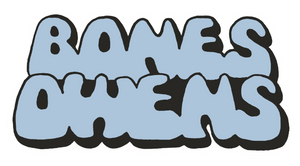 BONES OWENS BUBBLE FONT STICKER