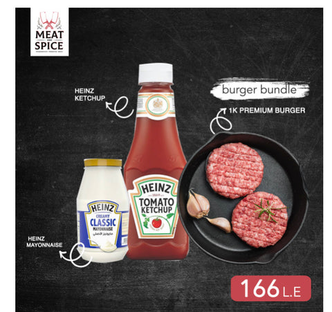 Premium Burger Ketchup And Mayo Bundle