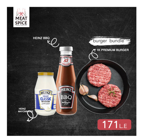 Premium Burger BBQ And Mayo Bundle